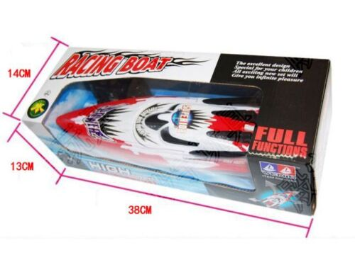 UK Remote Control Twin Motor High Speed Boat RC Racing Outdoor Toys With Radio
