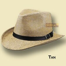 15eda0002337d item 2 ○oZtrALa○ Straw HAT Panama Pu-Leather Band Mens Womens Men s Fedora  Cowboy Golf○ -○oZtrALa○ Straw HAT Panama Pu-Leather Band Mens Womens Men s  ...