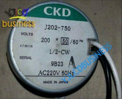 J202-750 motor 60 days warranty CKD