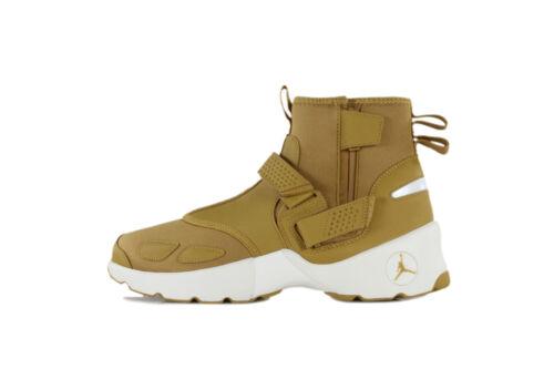 Nike Men/'s Air Jordan TRUNNER LX HIGH GOLDEN HARVEST Shoes Wheat AA1347-725 b
