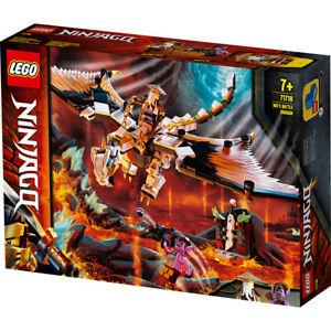 Lego 71718 Ninjago Wu's Battle Dragon Building Set ...