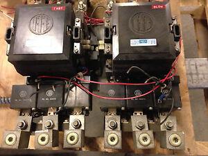 Ite sz size 5 reversing motor starter a203g 300a 200hp for Circuit breaker for 7 5 hp motor