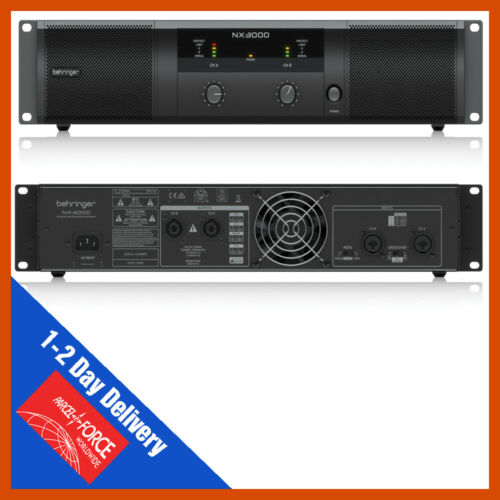Behringer NX3000 NX Range Class D Amplifier Amp Loudspeaker