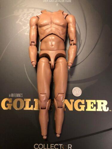 "Studios Big Chief James Bond 12/"" GOLDFINGER Oddjob nudo corpo Loose SCALA 1//6th"