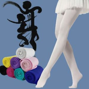 Belle-filles-Hosiery-Ballet-Chaussettes-Collant-Bas-Collants-Candy-Color
