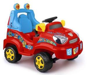 feber paw patrol elektrisch 6v kinder kleinkinder jeep. Black Bedroom Furniture Sets. Home Design Ideas