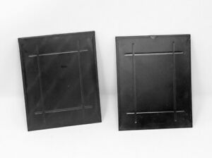(2) 4x5 Sheet Film Adapters Converts 4x5 Graphic plate holders to Sheet Film