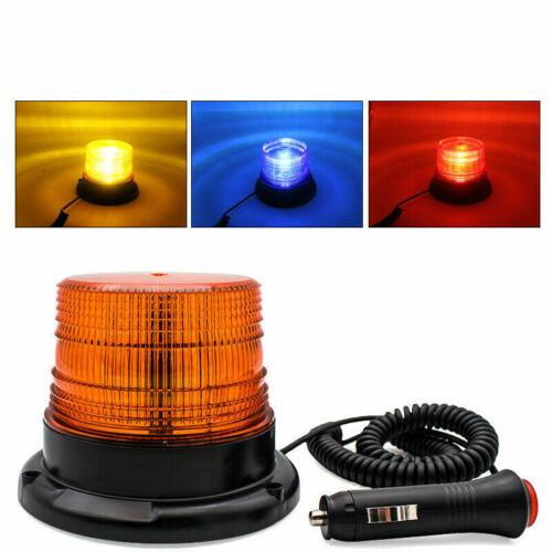 Voiture Camion Avertissement Lumière Flash Beacon Strobe Emergency DEL magnétique lampe 12-80 V