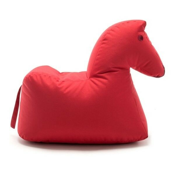 Sitting Bull coussins cheval Lotte Happy Zoo Rouge
