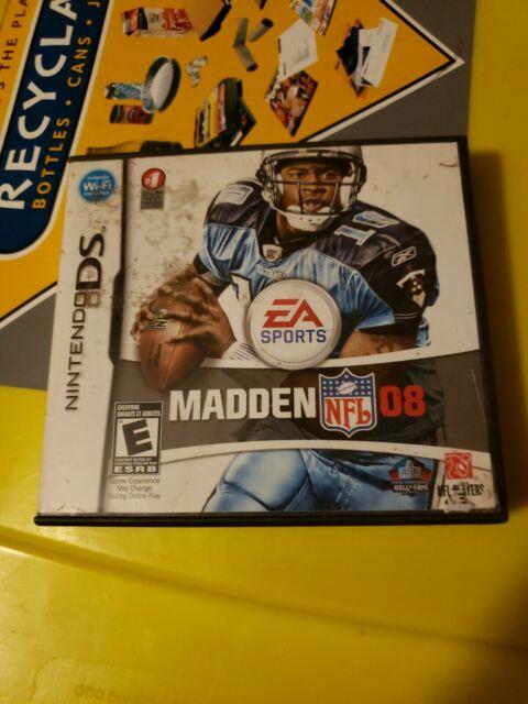 Madden NFL 08 & Backyard Football 09 2 Game Lot (Nintendo ...