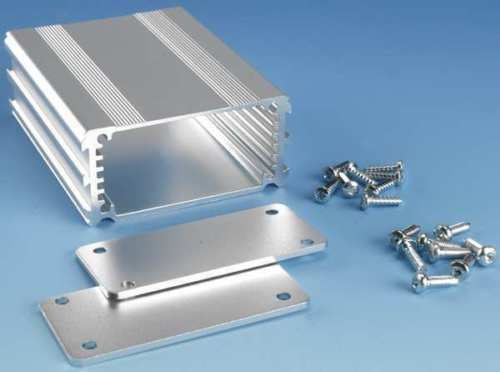 Box Enclosures B1-080SI Anodized Extruded Aluminum New