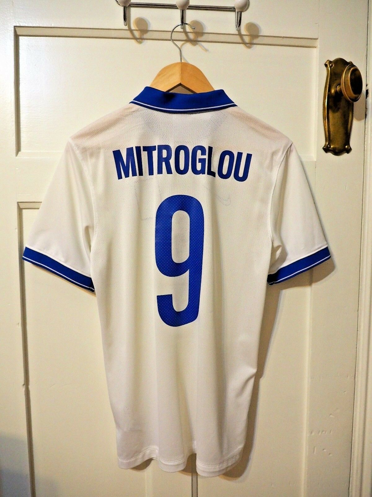 Grecia Nike Home Shirt Small 2014-2015 -  Mitroglou 9