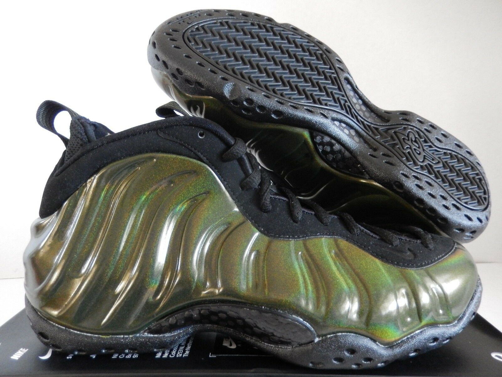 NIKE AIR FOAMPOSITE 8 ONE LEGION GREEN-BLACK-BLACK SZ 8 FOAMPOSITE [314996-301] dd5868