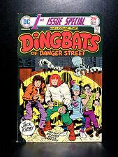 COMICS: DC First Issue Special #6 (1975), 1st Dingbats app - RARE (batman)