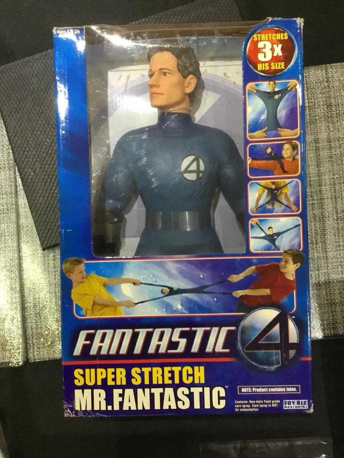 Fantastic Four - 14  Mr Fantastic Super Stretch Marvel ToyBiz 2005  LOOKS GREAT