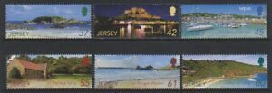 Jersey-2009-Jersey-Paysage-2nd-Series-Ensemble-MNH-Sg-1458-63
