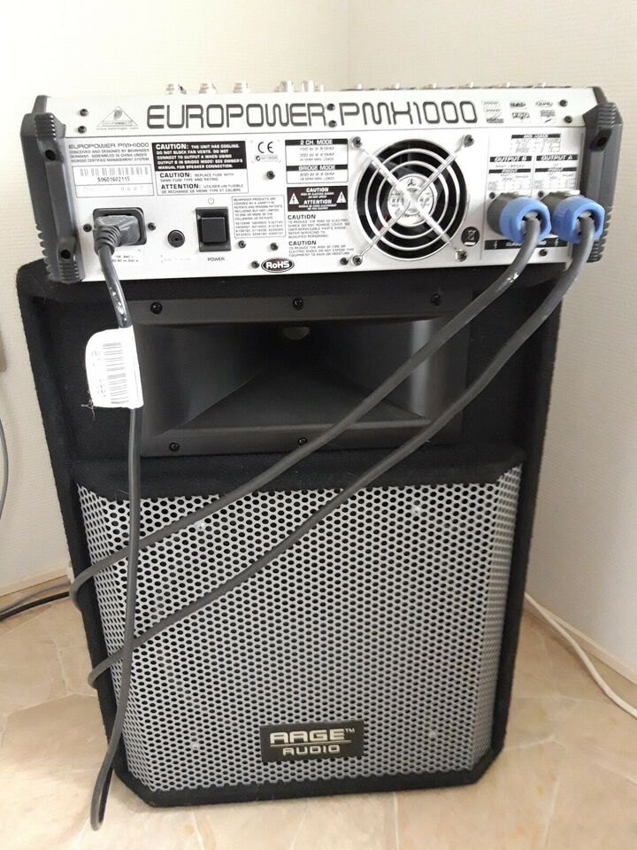 Powermixer, Behringer Europower PMH 1000