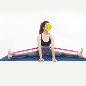 Stretch-Elastic-Yoga-Resistance-Belt-Strap-Latin-Band-Dance-Exercise-Pull