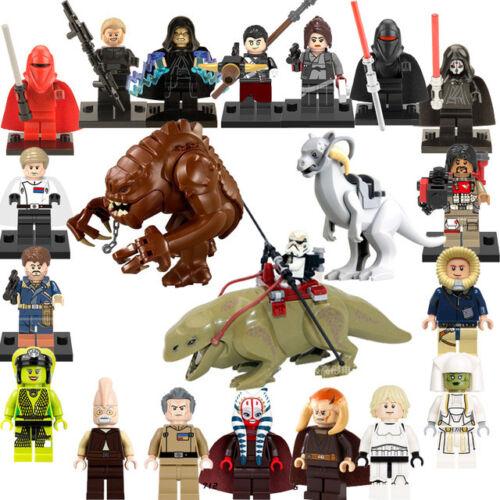 3 6 8 12 Pcs Star Wars Mini Figures NEW UK Seller Fits Major Brand Blocks Space