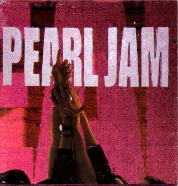 PEARL JAM ten (CD album) EX/EX 468884 2 alternative rock, grunge
