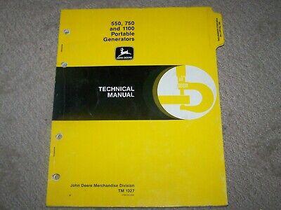 John Deere LX4 LX5 /& LX6 Rotary Cutters Operators Manual  B11