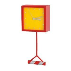 New Ikea Bryt Pendulum Clock Fun Design For Kids Children Room Gift Idea Ebay