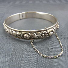 schöner alter Armreif 835/-Silber ca.30er Jahre