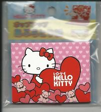 Sanrio Hello Kitty Oil Blotting Paper Tissue Hearts Red