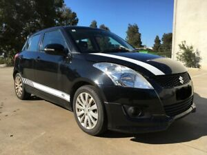 SUZUKI-SWIFT-RE1-BLACK-AUTO-2011-HAIL-DAMAGED-PARTS-ONLY