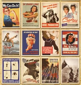 Lot-of-32-Vintage-Postcards-Advertising-Album-Poster-War-II-History-Post-Cards