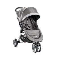 Baby Jogger City Mini Steel/Grey Standard Single Seat Stroller