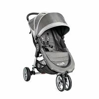 Baby Jogger City Mini Steel/Grey Standard Single Seat Stroller Strollers