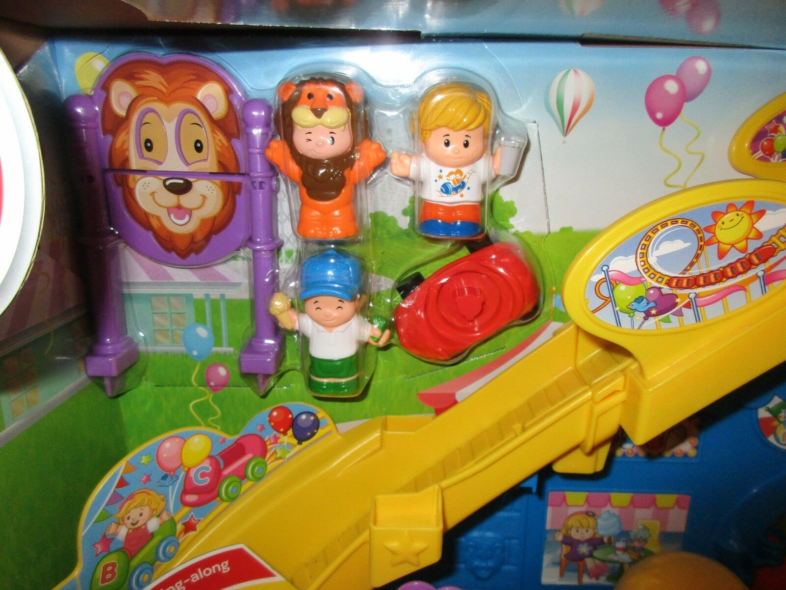 Fisher Price Little People NEW Fun Park Amusement Amusement Amusement park Roller Coaster Fair Ride e24777