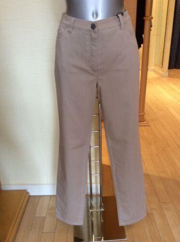 Michele Jeans Talla 20 BNWT Beige 32 1/2 dentro de la pierna RRP £ 143 ahora £ 64