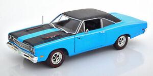 1:18 auto World Dodge Coronet R//T 1969 light green new en Premium-modelcars