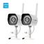 Zmodo-2-Pack-1080P-HD-Night-WiFi-Outdoor-Home-Wireless-IP-Security-Camera-System thumbnail 1