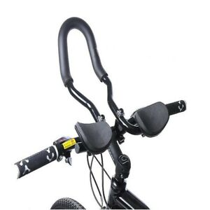 Cycling Adjustable Bike Bicycle MTB Relax Rest Armrest Handlebar Aluminum Alloy