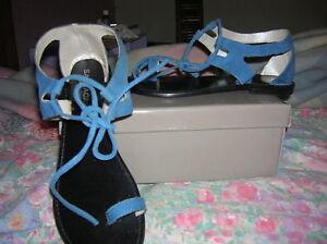 confort +++ ideal pieds sensibles neuves 38 cuir chaussures FEMME SANDALES