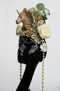 Unicorn-Gold-Headband-Festival-Flower-Crown-Headdress-Hippy-1920s-Gobbolino