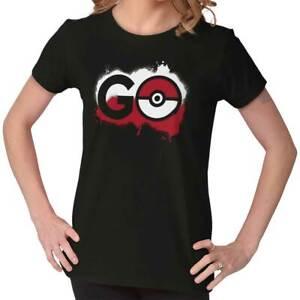 Pokemon-Go-Gamer-Shirt-Cute-Cool-Gift-Idea-Pokeball-Pikachu-Ladies-Tee-Shirt-T