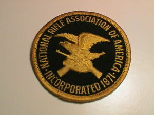 """3/"""" NRA National Rifle Association 2A VELCRO® BRAND Hook Fastener Patch"""