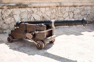Cooperative Cannone Medievale Antico Replica Armi In Scala 1:1 In Ferro Retail & Services Business & Industrial