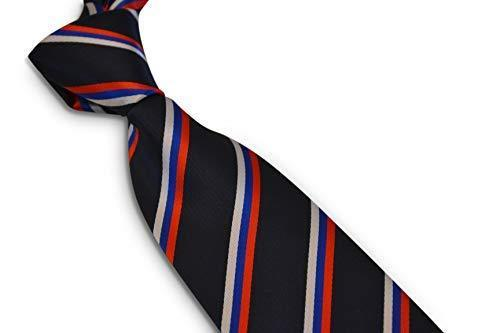 Frederick Thomas Bleu Marine Hommes Cravate en Rouge Blanc /& Bleu Rayures Russie Drapeau