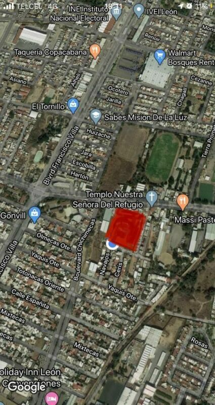Terreno en venta en Col. Buganvilias