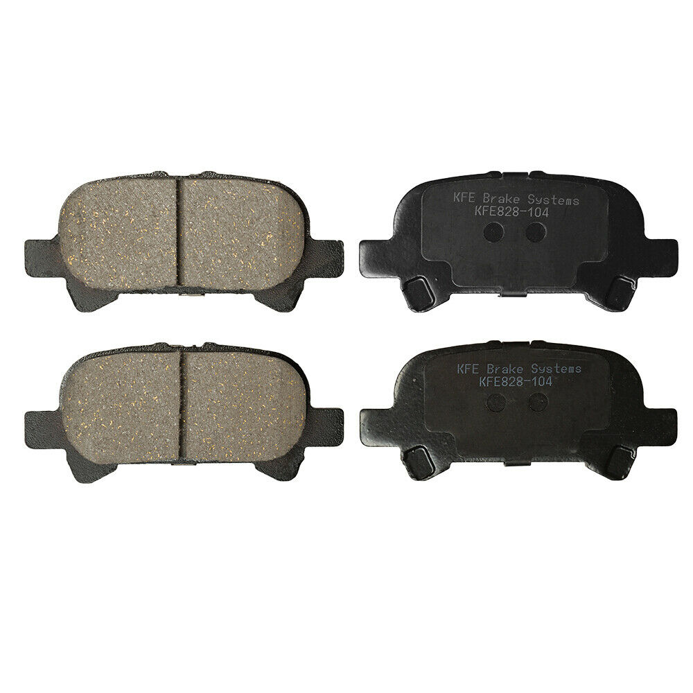 Premium Ceramic Disc Brake Pad FRONT REAR Fits Camry Avalon Solara KFE906A-828