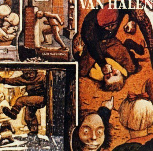 VAN HALEN Fair Warning CD BRAND NEW