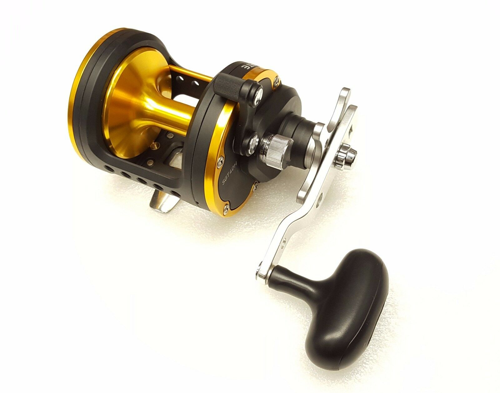 Daiwa Seagate Star Drag Conventional 6.4:1 Right Hand Fishing Reel 40H 40H Reel - SGT40H d41267