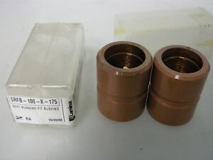 NEW-2PCS-LAMINA-SRFB-100-X-175-BUSHING-NON-HEAT-TREATED-1-034-PIN-DIA-x-1-3-4-034