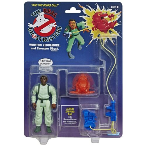 2020 Kenner Real Ghostbusters WINSTON ZEDDEMORE Action Figure Gonna Call Variant