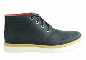 Brand-New-Caterpillar-Sixpoint-Boot-Mens-Leather-Wide-Fit-Lace-Up-Casual-Shoes